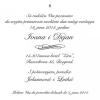 Venčanja - Elegantni tekst 6