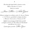 Venčanja - Elegantni tekst 8